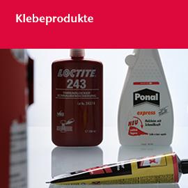 Klebeprodukte: Klebestoffe, Dichtstoffe, Klebebänder