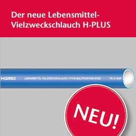 Lebesmittel Vielzweckschlauch H-Plus