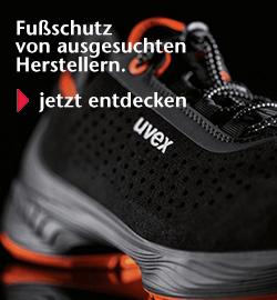 Fußschutz von ausgesuchten Herstellern