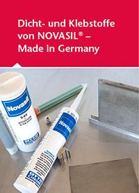 Dicht- und Klebstoffe von Novasil