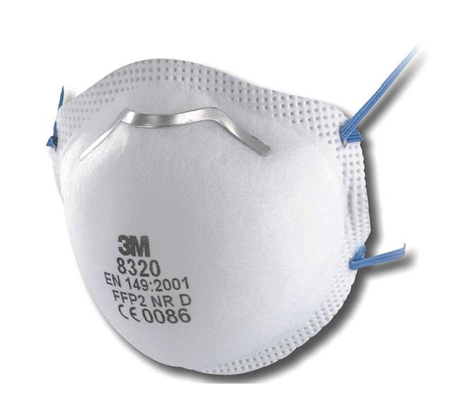 SAHLBERG Online-Shop: 3M Atemschutzmaske 8320 FFP2 ohne Ventil