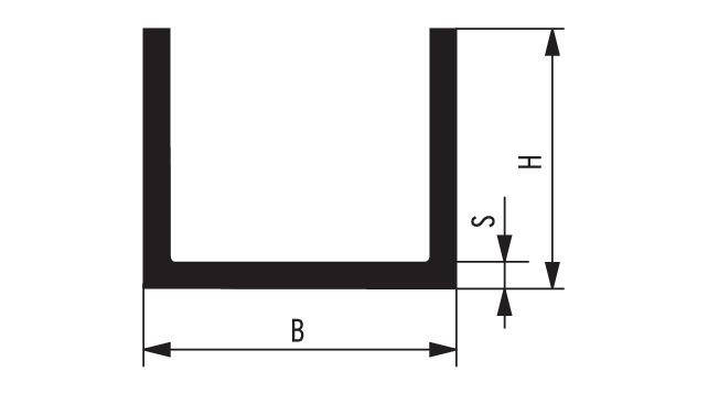 Sehr SAHLBERG Online-Shop: U-Profil PVC, grau - Konfigurator ZD88