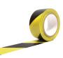 Markierungsband gelb/schwarz 50 mm x 33m