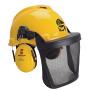 Waldarbeiter Helm-Gehörschutz-Set
