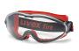 uvex ultrasonic 9302.601 Vollsichtbrille rot/schwarz