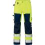 Hi-Vis Bundhose 2026 PLU gelb/marine