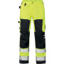 Hi-Vis Bundhose 2026 PLU gelb/schwarz