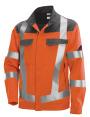 BP® Multinorm Warnschutzjacke warnorange/grau
