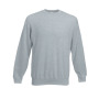 Set-In-Sweatshirt, graumeliert