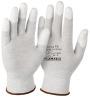 H-Plus ESD-Handschuh FK 1598 Fingerkuppen mit PU-Beschichtung