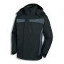 uvex 3-in-1 Wetterjacke perfect, schwarz/grau