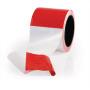 Absperrband rot/weiß geblockt