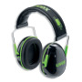 uvex Gehörschutzkapsel K1, 2600001 schwarz/grün