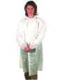 PP Besuchermantel, weiß Hemdkragen, ohne Taschen