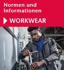 Normen und Informationen Berufsbekleidung