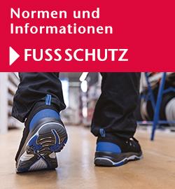 Normen und Informationen Fußschutz