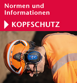 Normen und Informationen Kopfschutz