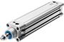 Normzylinder DNC Festo metrisch, Dämpfung PPV nach ISO 15552
