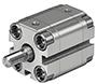 Kompaktzylinder ADVU P-A metrisch Festo AG, Dämpfung P