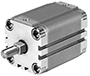Kompaktzylinder ADVULQ A-P-A Festo AG, Dämpfung P