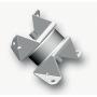 SCHWINGMETALL® Kombi-Element mit Puffer L-Ausführung