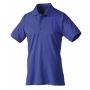 Polo-Shirt kobaltblau