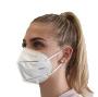 Gesichtsmaske KN95 gefaltet weiß ohne Ausatemventil, Partikeldurchlässigkeit vergleichbar mit FFP2