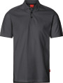 Apparel Baumwoll Polo-Shirt, dunkelgrau