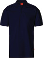 Apparel Baumwoll Polo-Shirt, saphirblau