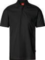 Apparel Baumwoll Polo-Shirt, schwarz