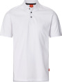 Apparel Baumwoll Polo-Shirt, weiß
