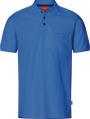 Apparel Baumwoll Polo-Shirt mit Brusttache, königsblau