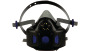 3M™ Secure Click™ Halbmaske mit Sprechmembran