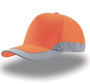 Hi-Vis 5-Panel Cap Helpy, One Size orange
