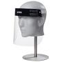 uvex 9710 PET Gesichtschutz Visier, Innenseite beschlagfrei
