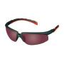 3M™ Solus™ 2000 Schutzbrille, grau-rot rot verspiegelte Scheiben, Antikratz
